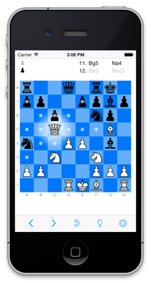 tChess - Chess for the iPhone
